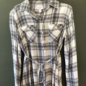 Super Soft Maternity Tunic with Tie